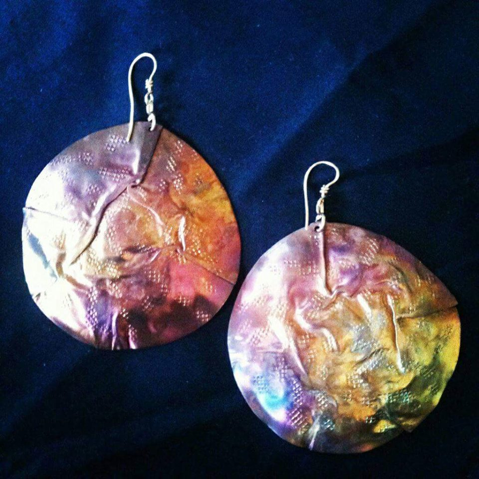 Must Haves: Burnt Roses Earrings By Anu Rock and Metal Jewelry