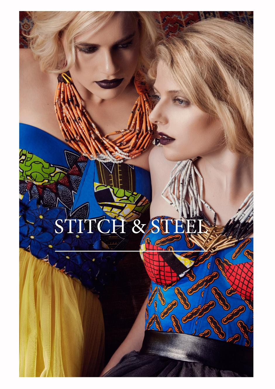 Stitch & Steel Stand Out!