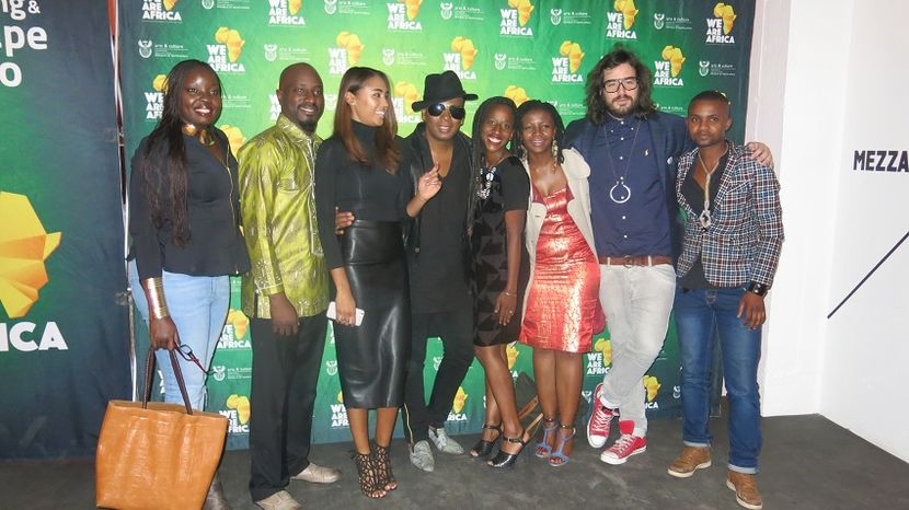 'We Are Africa' Fashion Show, South Africa