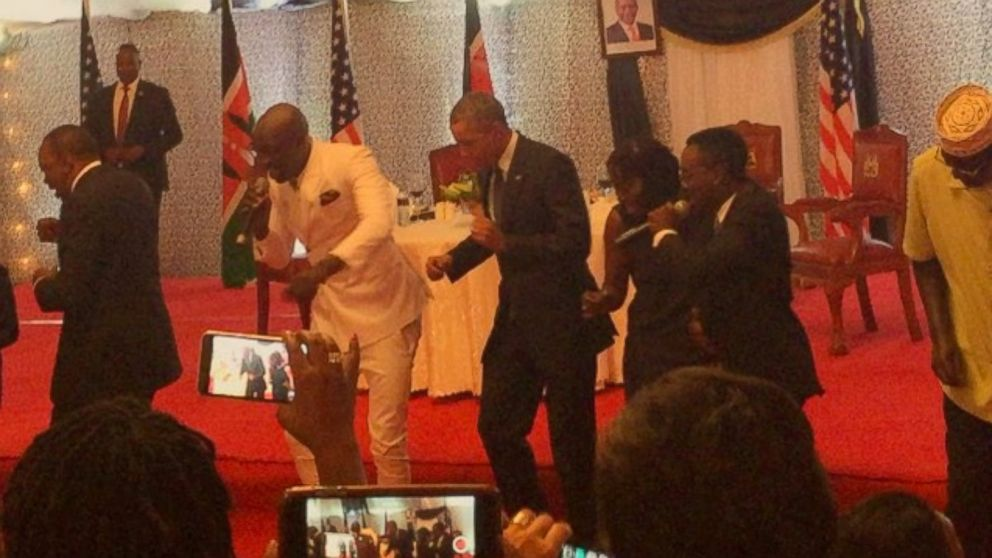 Sauti Sol and Obama Dance Lipala!